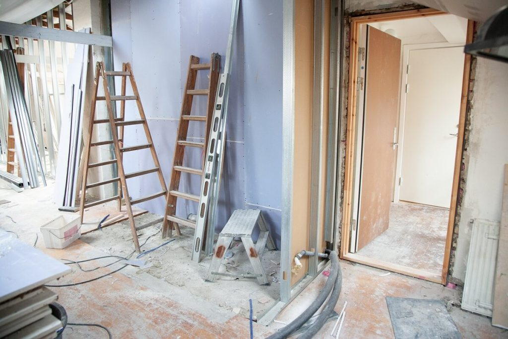 builder home grant substantial renovations room being remodeled
