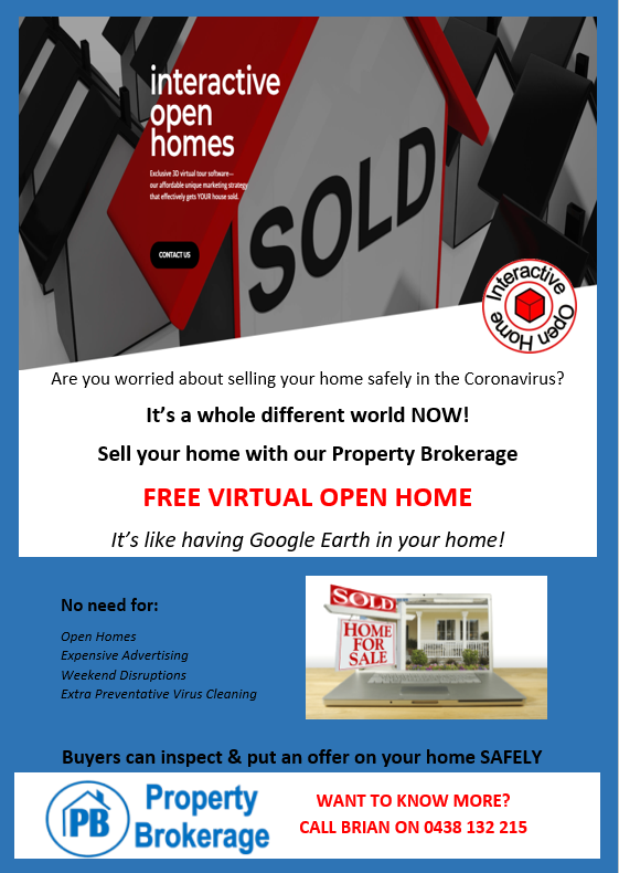 Free Virtual Open Home promotion - Interactive Open Home Tour marketing image