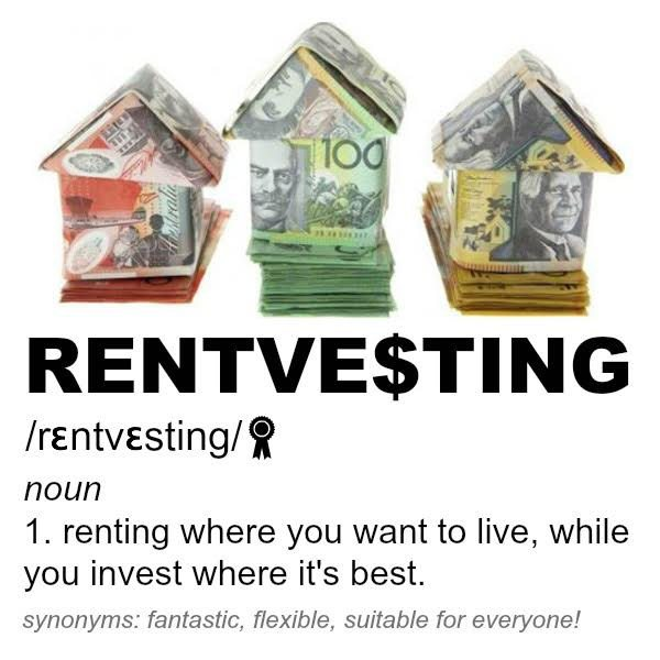 rentvesting - rent where you want to live, while investing elsewhere